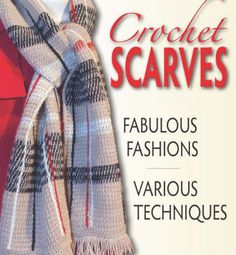 Crochet Concupiscence is a stop on the blog tour for Sharon Silverman's new book, Crochet Scarves. I wanted to do something really special for this so I spent a month crocheting designs from the book and kept a daily diary of my experience which I share here.