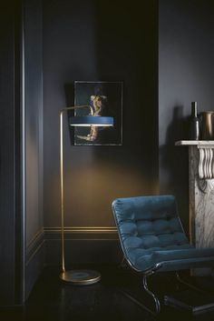 Stunning Velvet Furniture 24 photos. Messagenote.com Dark colors and denim blue armchair
