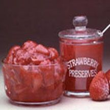 Freshest Strawberry Jam - Freezer strawberry jam tastes just like fresh strawberries. One bite of this jam and you'll never want cooked jam again.