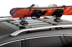 Genuine Acura Accessories 08L03-E09-200B Snowboard Attachment for Roof Rack Fits: 2007-2012 MDX and 2007-2013 RDX. Provides room for another snowboard or bicycle attachment. Holds one or two snowboards. Fully adjustable to accommodate all board sizes and widths; the following accessory is required for installation but not included - cross bars with roof rails.  #Acura #AutomotivePartsAndAccessories