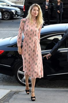 Dutch beauty: Favored Miu Miu model Doutzen Kroes, 32, was also on hand for the event