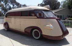 Motorhome restored and customized: 1941 Stevens/Ledbetter Western Flyer
