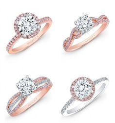 Rose Gold Engagement Rings - Wedding Stuff