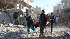 Syria conflict Russia 'driving rebels into hands of extremists' - BBC News