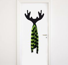 DEAR HANGER Wall Decals, Hanger, Wallpaper, 3d, Home Decor, Shopping, Moose, Coat Hooks, Vinyls