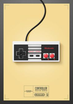 it8Bit — Controller Poster Series Created by Quentin Fevre