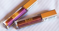 Os batons líquidos metalizados da Milani