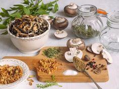 DOMÁCÍ HOUBOVÉ KOŘENÍ - Inspirace od decoDoma Korn, Cooking, Desserts, Nature, Kitchen, Tailgate Desserts, Deserts, Naturaleza, Postres