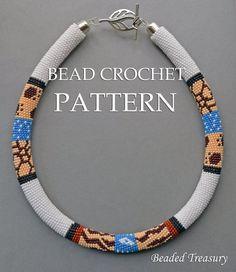 Safari - bead crochet pattern