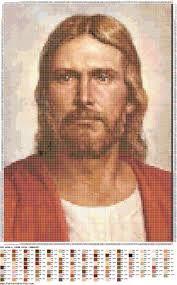 Jesus Cristo- ponto cruz