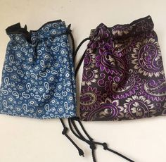 Dog Treat Pouch, Metal Belt, Paisley Design, Pouch Bag, Dog Gifts, Dog Treats, Drawstring Backpack, Bucket Bag, My Etsy Shop