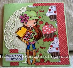 sweet treats challenge ANYONE FOR ANYA by DT Blankina