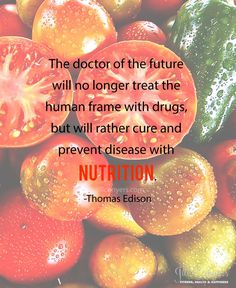 Cure and prevent disease with nutrition. jillconyers.com #quote #nutrition