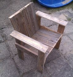 Little child pallet chair | 1001 Pallets