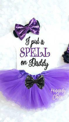 Baby Girl Halloween Outfit, Baby Girl Halloween Costume First Halloween Outfit Girls Halloween Shirt Spell on Daddy My Halloween Tutu Source by KennedyClaireCouture halloween outfits Toddler Halloween Outfits, Baby Girl Halloween Outfit, Halloween Onesie, Cute Baby Girl Outfits, Halloween Costumes For Girls, Cute Baby Clothes, Baby Girl Dresses, Funny Halloween, Diy Clothes