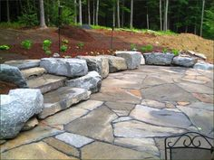 20+ best stone patio ideas for your backyard | stone patios ... - Backyard Stone Patio Ideas
