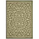 Found it at Wayfair - Courtyard Olive Outdoor Area Rug