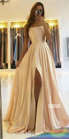 Pretty Prom Dresses, Simple Prom Dress, Hoco Dresses, Dance Dresses, Ball Dresses, Cute Dresses, Beautiful Dresses, Prom Dreses, Ball Gowns Prom
