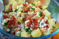 COOKANDFEED : Η πατατοσαλάτα της Χαράς/Xara's Potato salad Potato Salad, Salads, Recipies, Potatoes, Lunch, Cooking, Ethnic Recipes, Food, Recipes