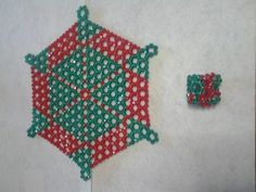Handmade beads trivet or mat with napkin ring Or Mat, Support Small Business, Handmade Beads, Love To Shop, Beadwork, Napkin Rings, Pot Holders, Coasters, Christmas Ornaments