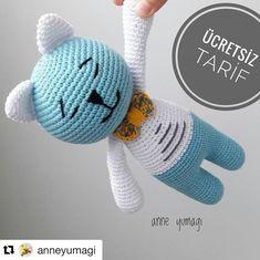 Cat amigurumi crochet pattern (Amigu World) Crochet Doll Pattern, Crochet Bunny, Crochet Patterns Amigurumi, Amigurumi Doll, Crochet Dolls, Doll Tutorial, Stuffed Toys Patterns, Doll Patterns, Origami
