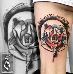 Tattoo Zincik - le petit prince rose tattoo by https://zincik.deviantart.com on @DeviantArt