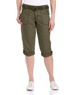 Carhartt Women's EL Paso Cropped Pant, Army Green, 16 Carhartt. $54.00