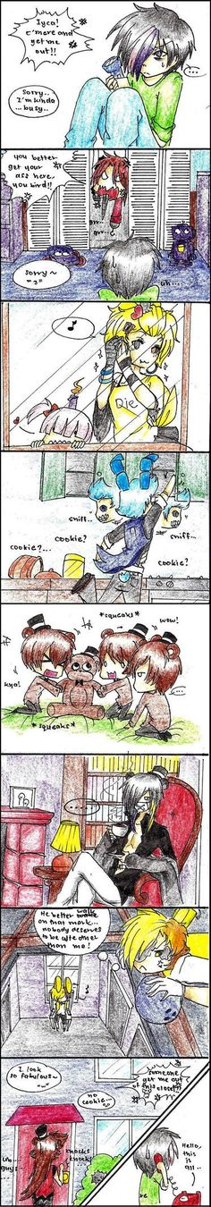 I know there is a curse word but i loved this to much Fnaf 4- behind the trailer.. by karinchan97 on DeviantArt