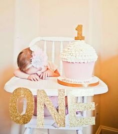 Such a cute idea for baby 1st birthday!  #mylondonweddingplanner