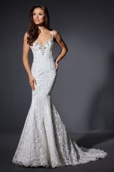 Cristiano Lucci 12906 Wedding Dress - The Knot 3d11b30a61