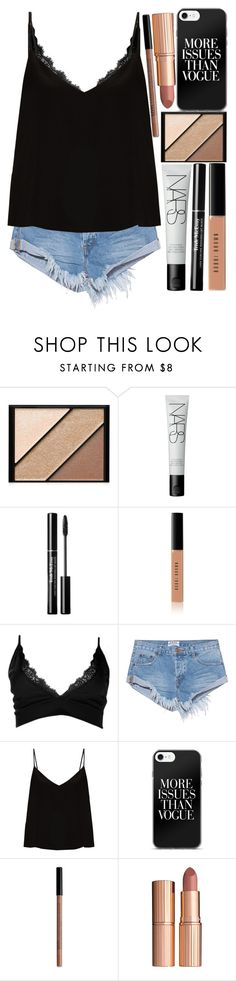 """""""Untitled #108"""" by blue-skies-mmiv ❤ liked on Polyvore featuring Elizabeth Arden, NARS Cosmetics, Bobbi Brown Cosmetics, Boohoo, OneTeaspoon, Raey, NYX and Charlotte Tilbury"""