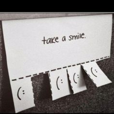 Free smiles for the grumpy men at work??  :)