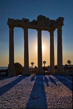 Temple of Apollo - Side, Antalya, Turkey. Went here in 2010 and i was not really impressed you get hassled to much walking the streets.