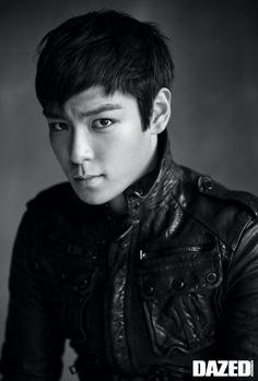 TOP of Big Bang for Dazed Magazine 2010, photographed by Kim Jung-Man #photography #koreanphotography #blackandwhitephotography