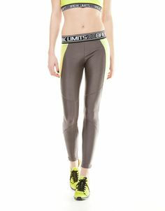 Bershka Macedonia - Bershka waistband detail sports leggings