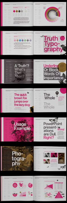 Truth Brand Guidelines » Corporate Identity Design (Beauty Design Book