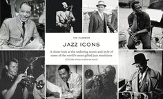 JAZZ ICONS | THE CLASSICS | The Journal | MR PORTER
