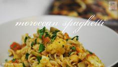 Moroccan Spaghetti « fried dandelions