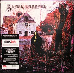 Black Sabbath 180g LP #Vinyl Record Rhino New Sealed
