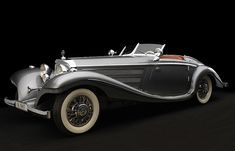"This is the 1937 Mercedes-Benz 540K Special Roadster. It was Mercedes' flagship vehicle, and no expense was spared. It perfectly represents the art deco styling of its era, and with a supercharged engine (the ""K"" stands for ""kompressor""), it was as powerful as it was sleek. Even a car as old as a 1937 Mercedes can look thoroughly fresh if it's designed right, and everything about this car was done right."