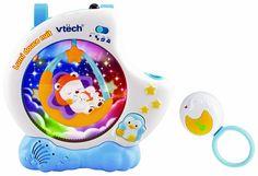 Vtech Veilleuse- Lumi Douce Nuit avec télécommande: Amazon.fr: Bébés & Puériculture