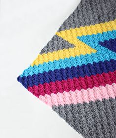 Ravelry: ZZ Block pattern by Zeens and Roger C2c Crochet Blanket, Crochet Afghans, Crochet Stitches, Arm Knitting, Double Knitting, Crochet Designs, Crochet Patterns, Crochet Ideas, Crochet Geek