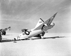Convair XF-92A accident front - Convair XF-92 - Wikipedia, the free encyclopedia