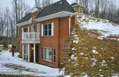 Why this house was built into a hill
