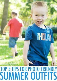 Summer Clothing Photo Tips for Summer Photos with Kids | Mom365.com