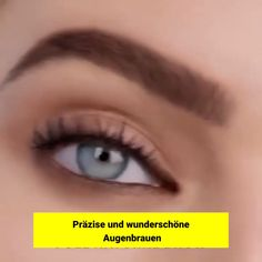 😍MEGA AUGENBRAUEN😍 Thanks to the unique design and its tip, you can draw wafer-thin lines with the WOW BROW and give your eyebrows the necessary naturalness. With the WOW BROW you can easily trace your eyebrows. Make Up Tricks, How To Make, Beauty Secrets, Beauty Hacks, Beauty Make Up, Hair Beauty, Makeup Tips, Eye Makeup, Eyebrows