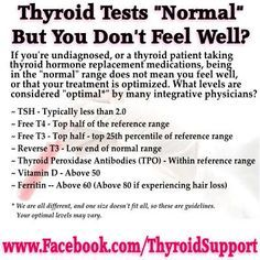 5 Reasons Doctors Fail To Diagnose Hypothyroidism Pinner Said: My doctor needs to see this. Optimal thyroid levels for hypothyroid patientsPinner Said: My doctor needs to see this. Optimal thyroid levels for hypothyroid patients Thyroid Test, Thyroid Issues, Thyroid Hormone, Thyroid Disease, Thyroid Problems, Thyroid Health, Autoimmune Disease, Thyroid Symptoms, Low Thyroid