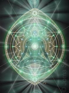 Sacred geometry art.