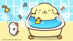 Pompompurin Character Names, Character Drawing, Sanrio Characters, Rilakkuma, Kawaii Cute, Artist Names, Plushies, Make Me Smile, Hello Kitty