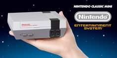 Riding the Pokemon Go wave, Nintendo unveils the NES Classic Mini, a console for reliving the 1980s